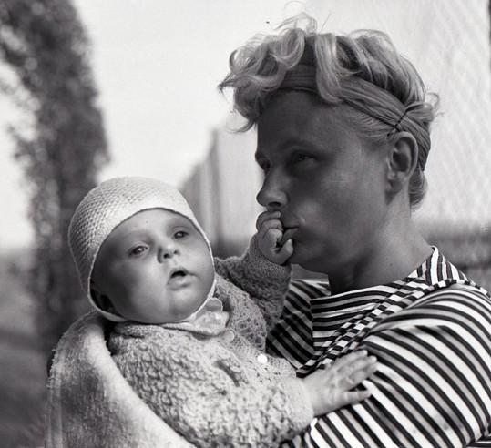Helena Suková s maminkou Věrou Sukovou, taktéž slavnou tenistkou.