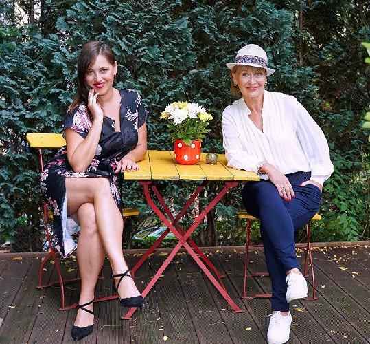 S dcerou, zpěvačkou Bárou Vaculíkovou, která slaví 40. narozeniny.