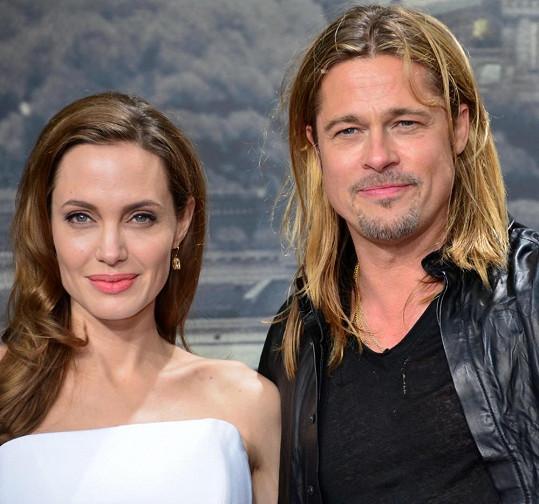 3. Angelina Jolie a Brad Pitt