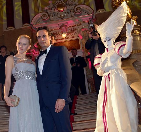 Syn slavného otce Anthony Delon s partnerkou Annou.