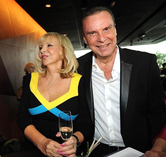 S manželem Štefanem Margitou