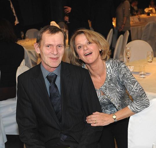 S kolegou Jiřím Schmitzerem hrála ve filmu Jako nikdy.