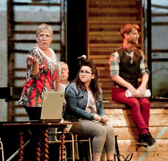 Jarka hraje v Mýdlovém princi v Divadle Broadway.