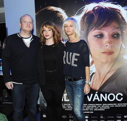 S herci Vicou Kerekes a Davidem Novotným