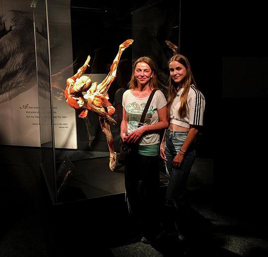 Společně vyrazily na výstavu o lidském těle na brněnské Výstaviště.