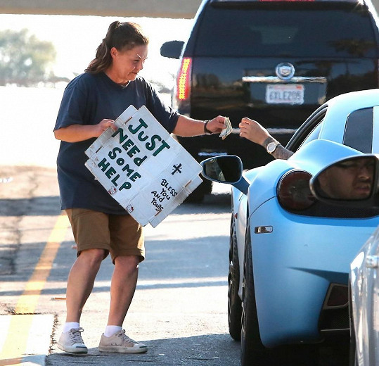 Tento snímek vyvěsil Bieber na internet.