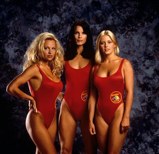 Trojice slavných záchranářek pohromadě.