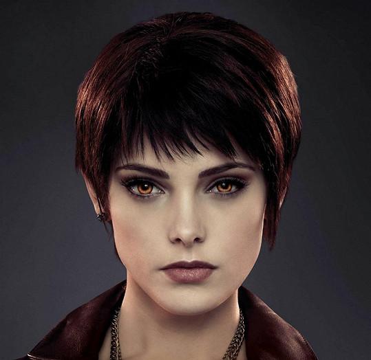 Ashley Greene jako Alice Cullen v Twilight sáze