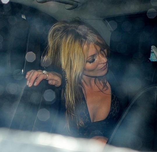 Kate Moss měla také dost.