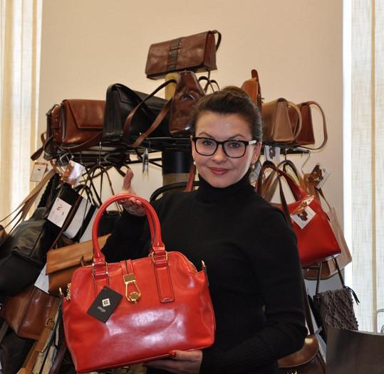Morávková chce navrhovat krásné kabelky.