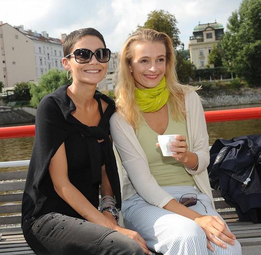 Vlaďka Erbová a Ivana Jirešová