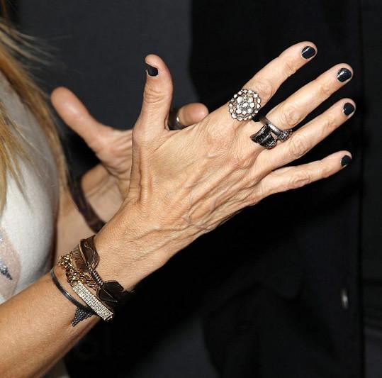Tyhle ručičky patří hvězdě Sexu ve městě.
