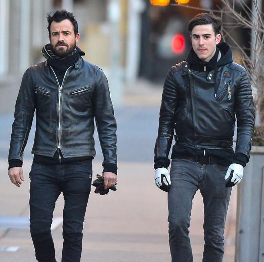 Justin Theroux s bratrem Sebastianem.