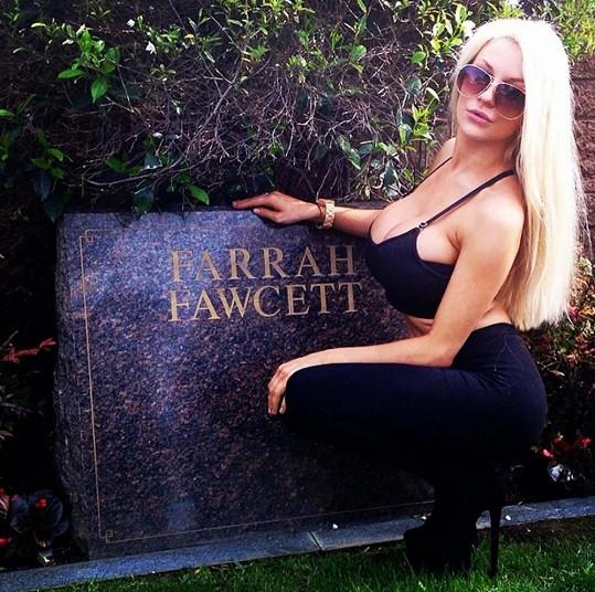 Farrah Fawcett posmrtně trpí.