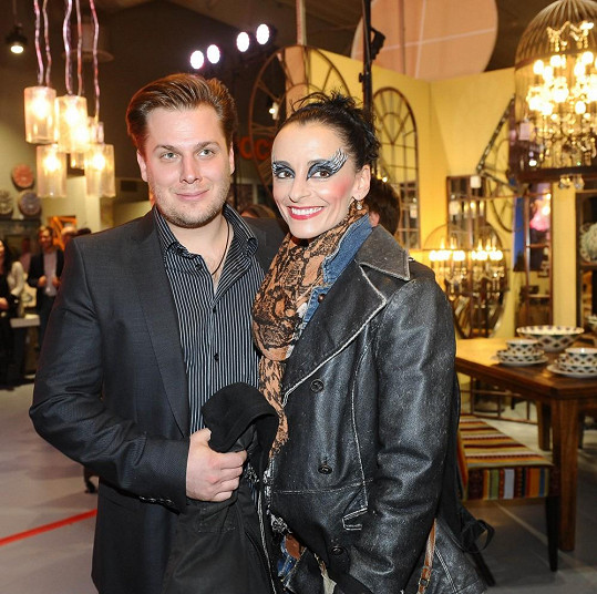 Zuzana s přítelem Tomášem Savkou