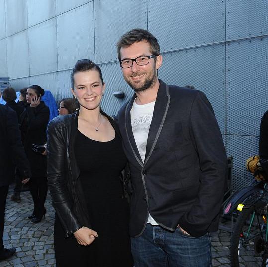 Marta s přítelem Miroslavem Vernerem