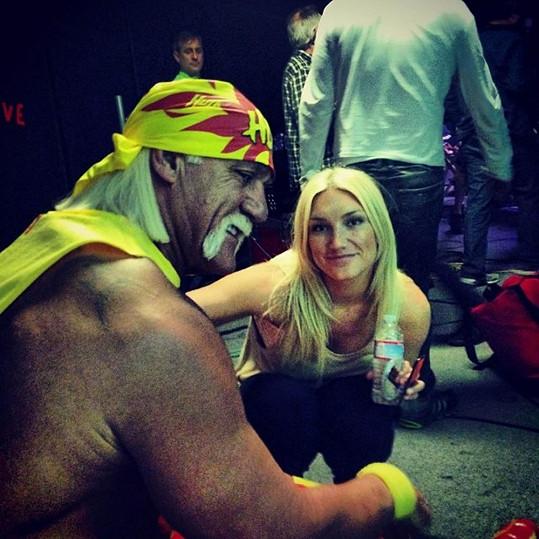 S tátou Hulkem Hoganem