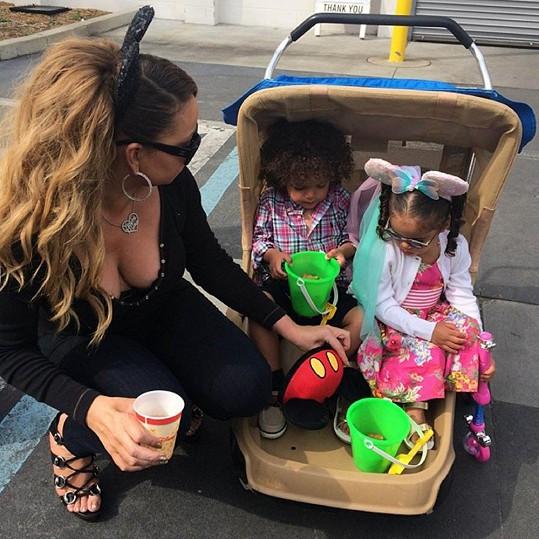 Mariah a její poklady