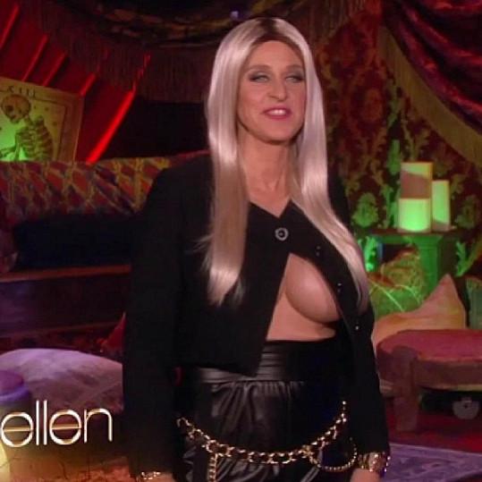 Komička Ellen DeGeneres parodovala Nicki Minaj.