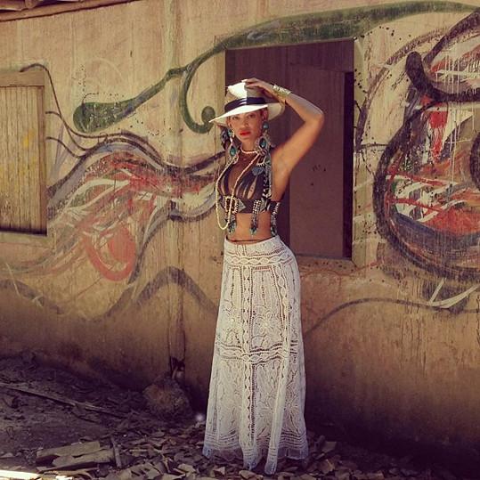 Beyoncé si v Brazílii užívá pár dní odpočinku.