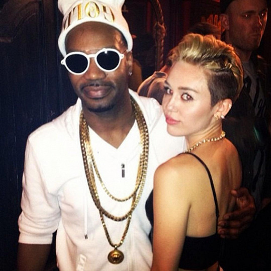 Miley a rapper Juicy J