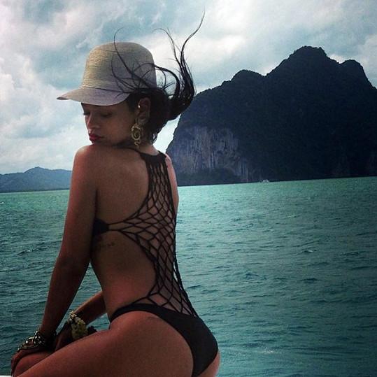 Rihanna se pochlubila fotkami z dovolené v Thajsku.