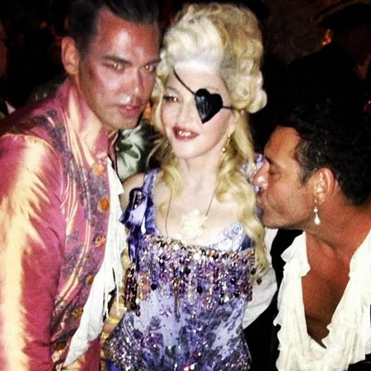 Madonna umí slavit ve velkém stylu.