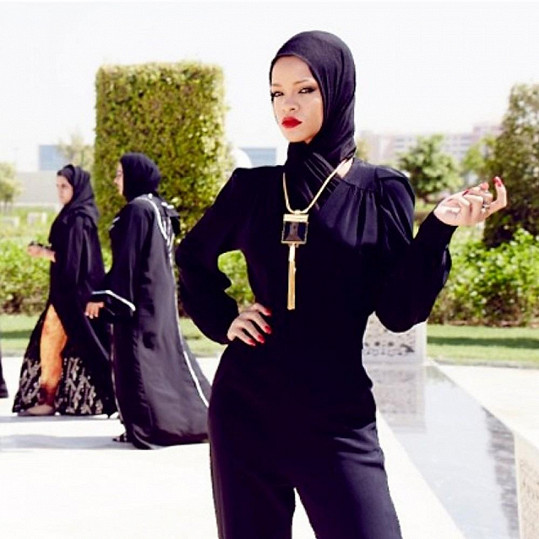 Rihanna ve Spojených arabských emirátech