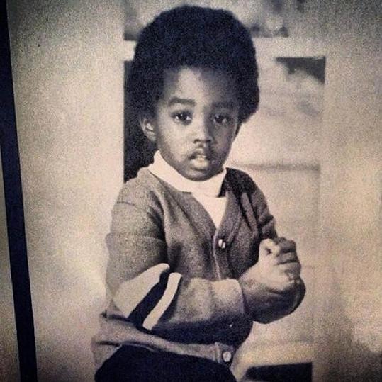 Malý P. Diddy byl rozkošné dítě.