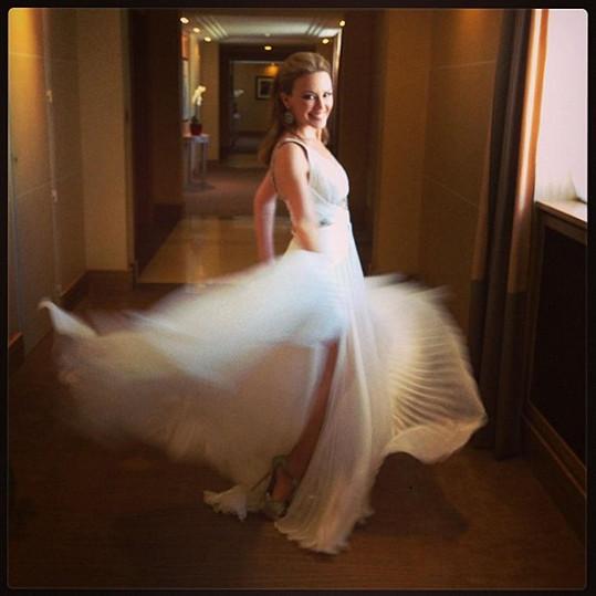 Kylie jako nevěsta?
