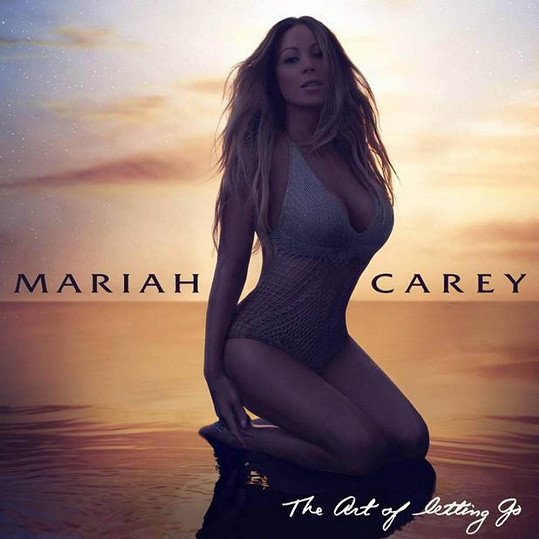 Mariah po zásahu Photoshopu.