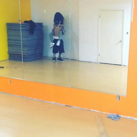 Justin a Selena nacvičovali zajímavou taneční choreografii.