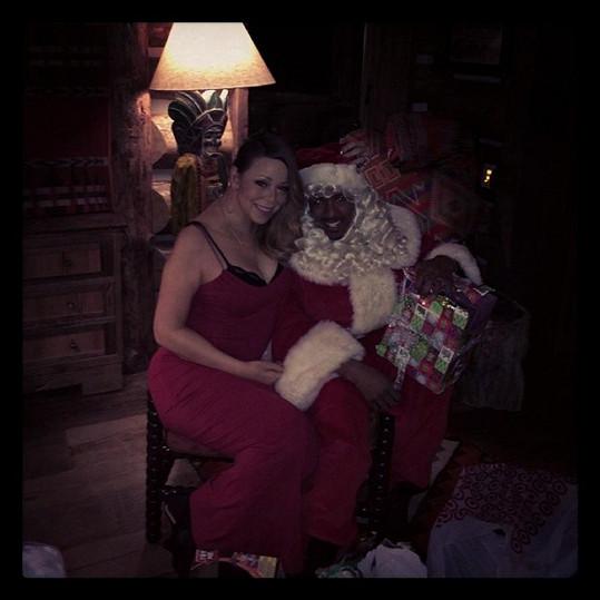 Mariah s manželem Nickem Cannonem.