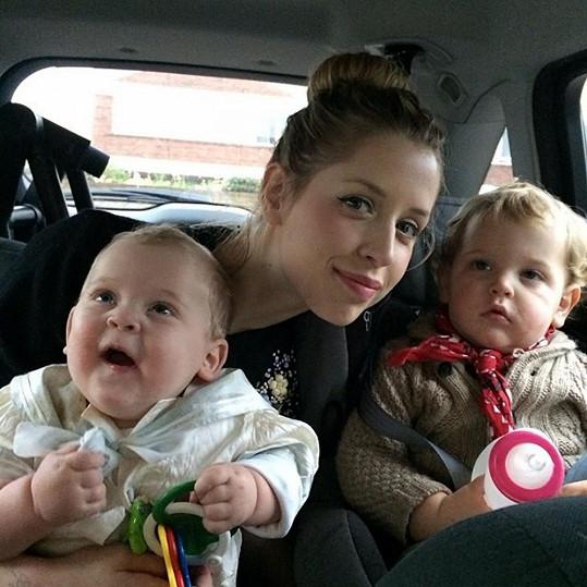 Geldof se svými dvěma syny