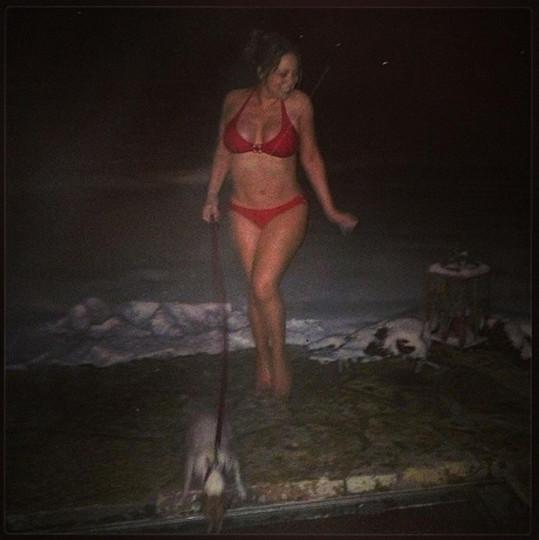 Mariah Carey ráda provokuje i po překročení čtyřicítky.
