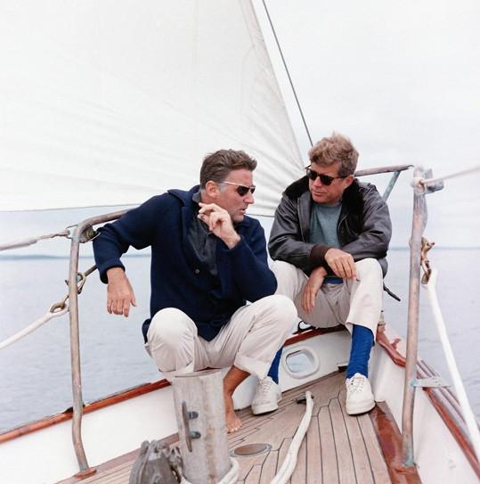 S Jackem Kennedym byli švagrové a kamarádi.