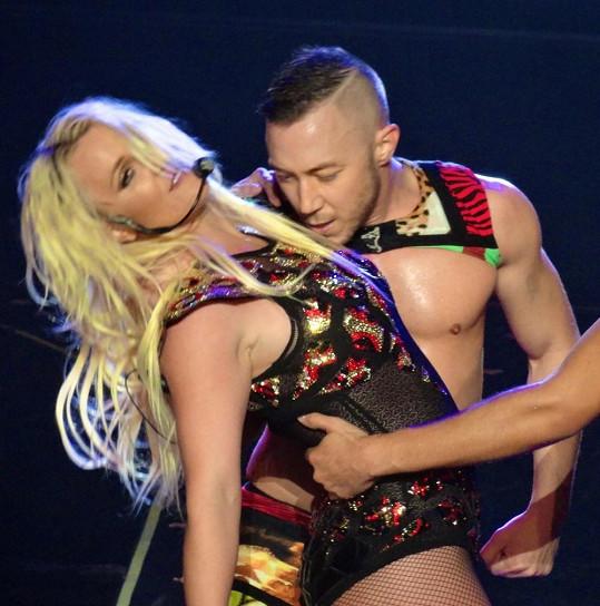 Britney předvedla žhavou show.
