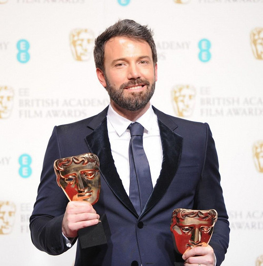 Ben Affleck s cenami BAFTA za nejlepší režii a film.