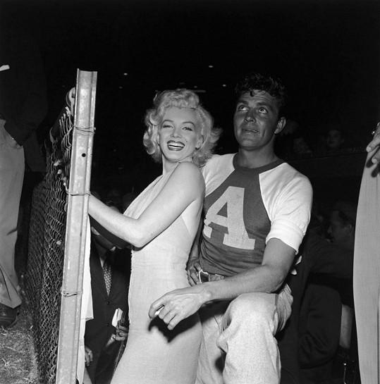Dale Robertson s Marilyn Monroe.