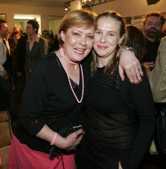 Jana Šulcová s dcerou Janou v roce 2006