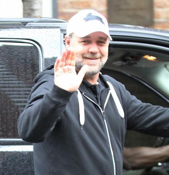 Russell Crowe a jeho šedivý porost na tváři