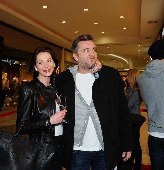 Tereza Zimová s přítelem Jardou Haštavou.