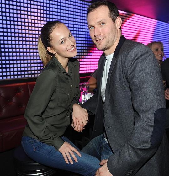 Renata se svým snoubencem Ondřejem Novotným