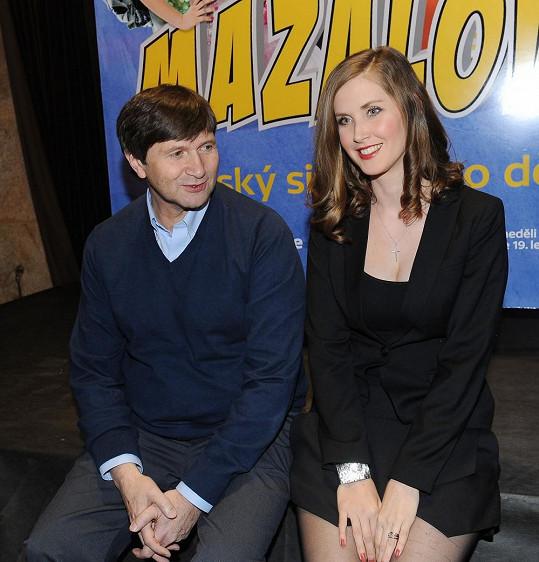 S Janem Hrušínským hraje v novém seriálu Mazalové.