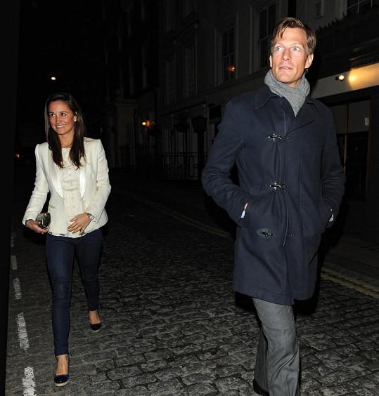 Nico s Pippou zavítali do londýnského klubu LouLou.
