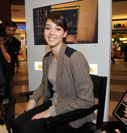 Vanda Chaloupková si v Ulici zahrála partnerku Romana Zacha.