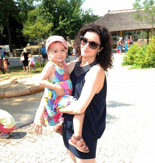 Šoralová s dcerou Rebekou