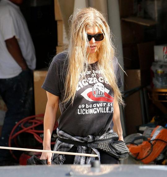 Fergie aktuálně řeší spíš dostavbu domu než vzhled.