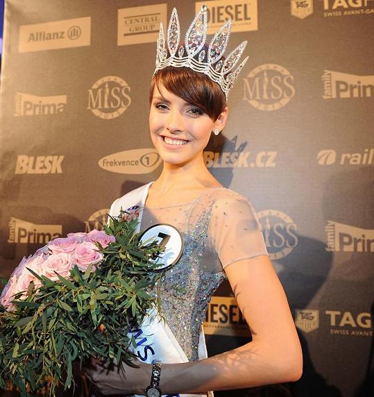 Nová Česká Miss Gabriela Kratochvílová je zadaná.