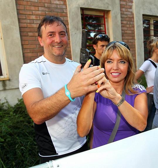 O svůj zevnějšek pečuje také kvůli partnerovi Milanovi Benešovi.